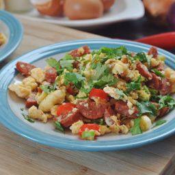SPANISH SCRAMBLED EGGS (BUZZ MAGAZINE)