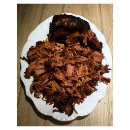 LEFTOVER BBQ PULLED PORK CARNITAS
