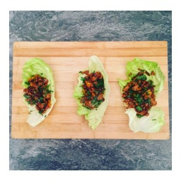TURKEY LETTUCE TACOS