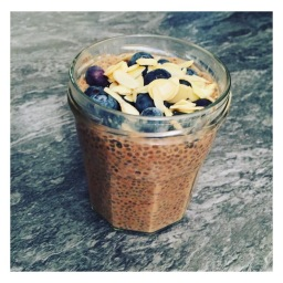 BLUEBERRY & ALMOND CHIA PUDDING