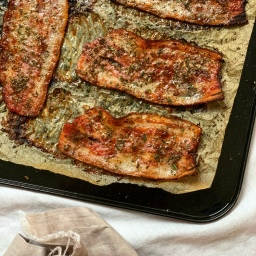 MAPLE ROSEMARY BUTTER BACON